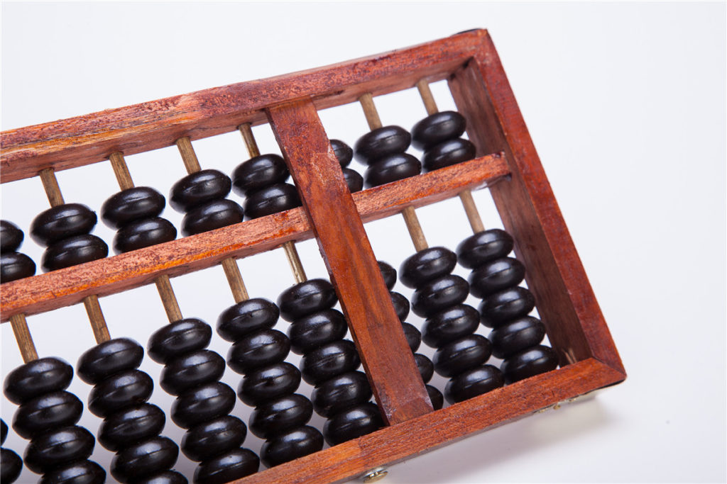 abacus invented by china