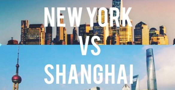 NEW YORK VS SHANGHAI