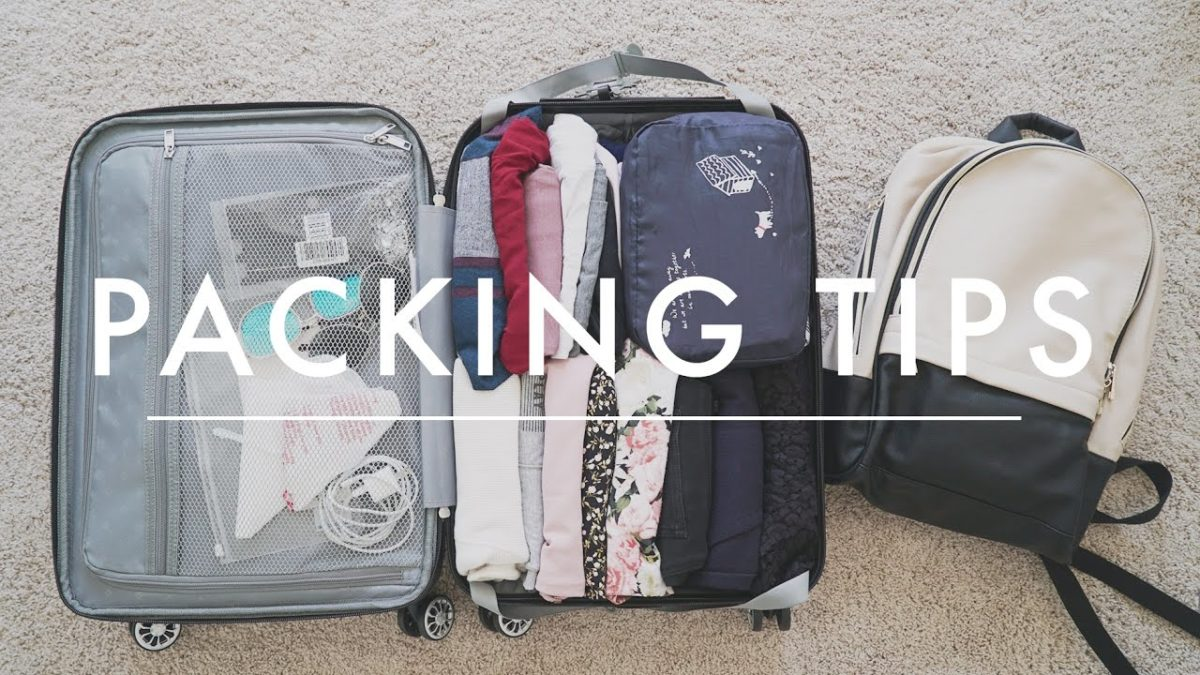 How to pack a Suitcase?