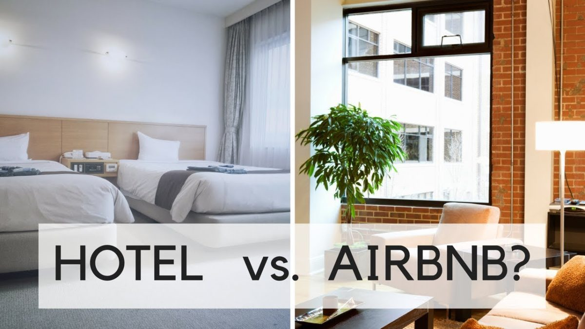 Hotels vs Airbnb