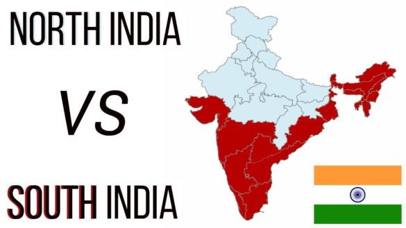 North versus south India