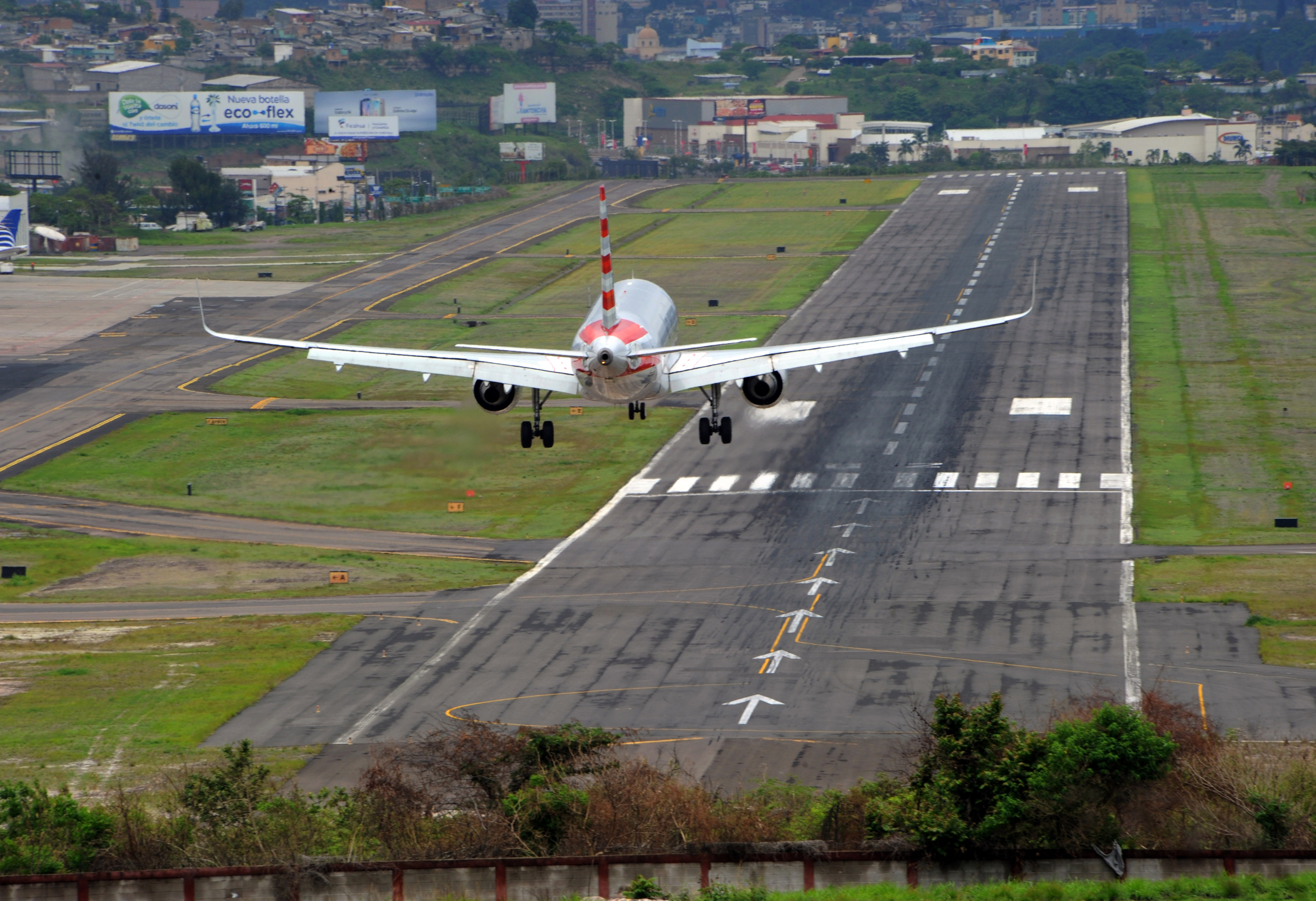 The airport in Honduras
