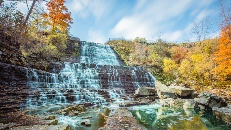 Canadian Waterfalls