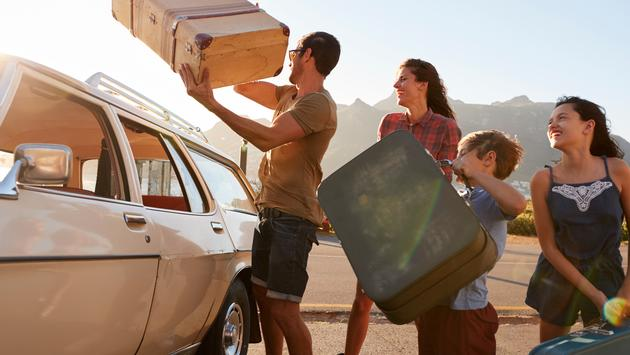 Road trip plans with family