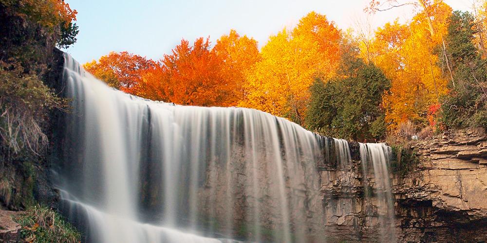 Six best Canadian waterfalls