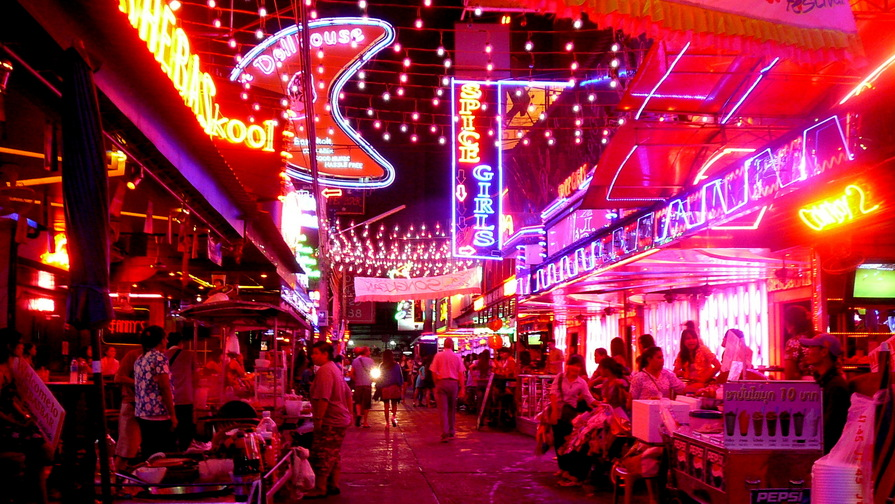 Ping Pong bars in Thailand