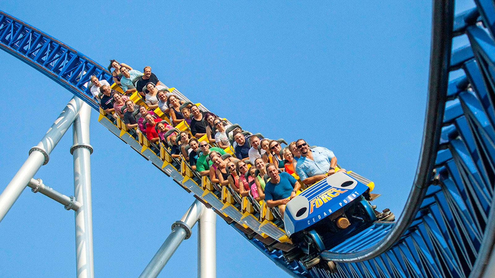Most dangerous theme park rides