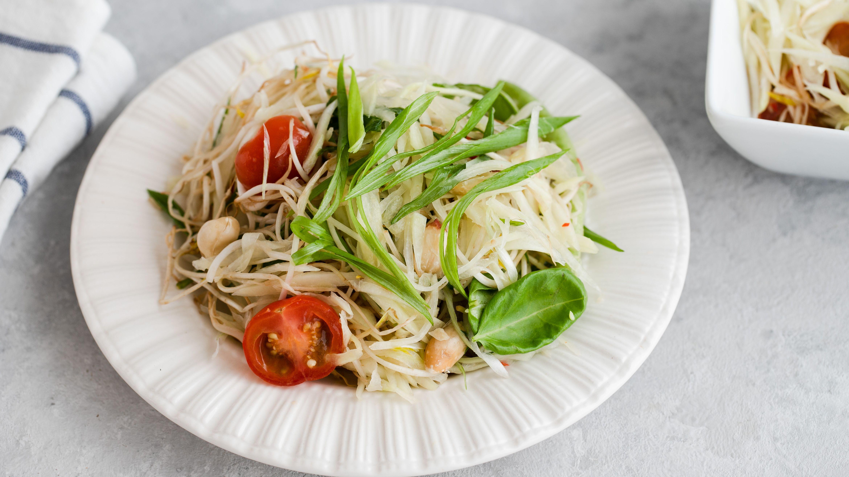 thai christmas food