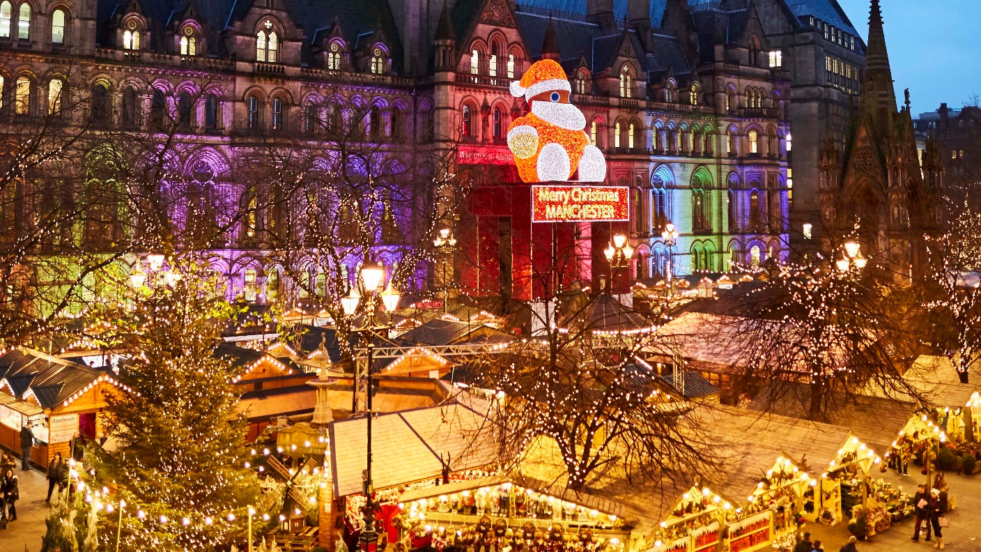 Manchester in winter