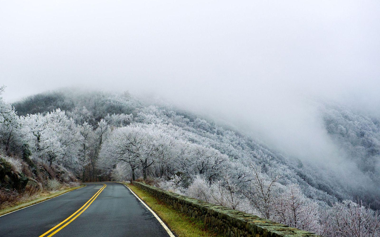 Shenandoah National Park in Winter