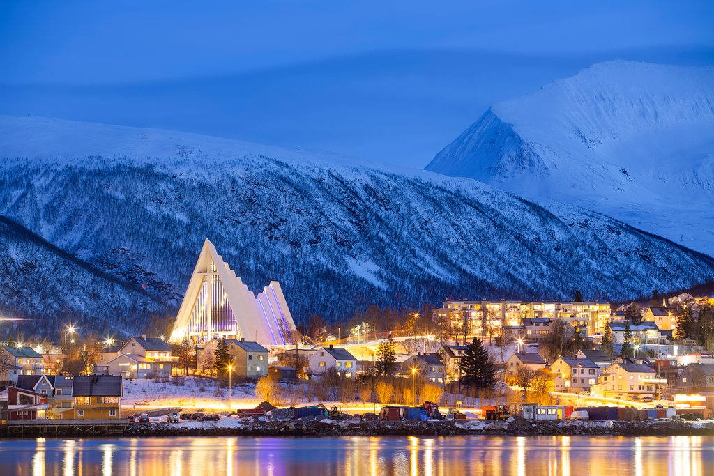 Norway during winter