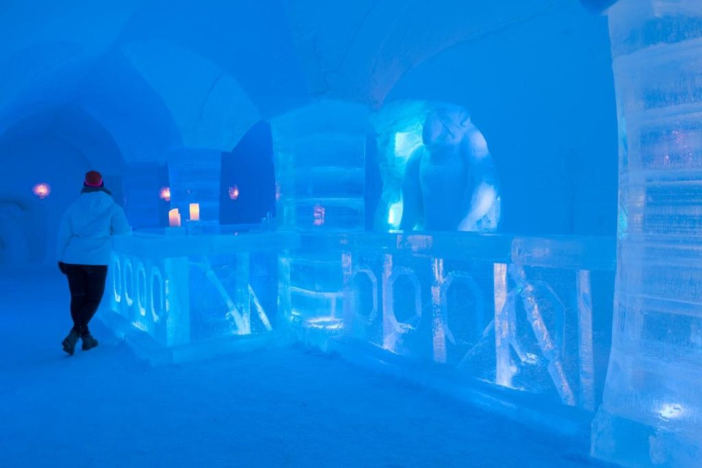 Ice hotels in Norway