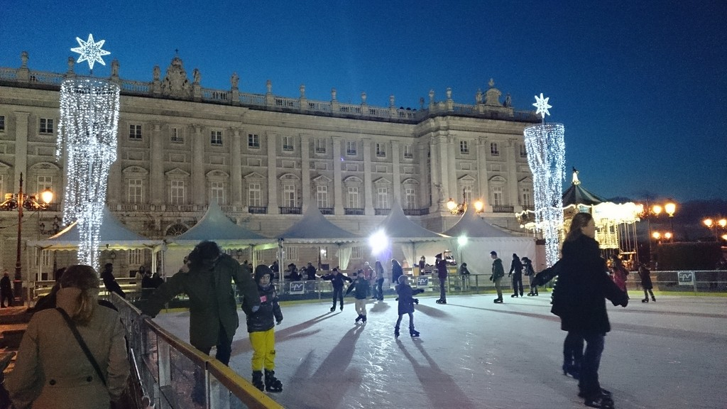 Madrid during winter